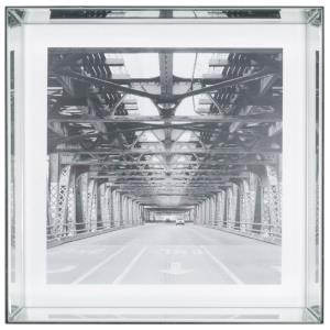 """24"""" Square Mirrored Picture Frame"""