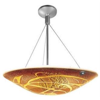 Access Lighting 23200 Safari- Three Light Italian Glass Cable Pendant