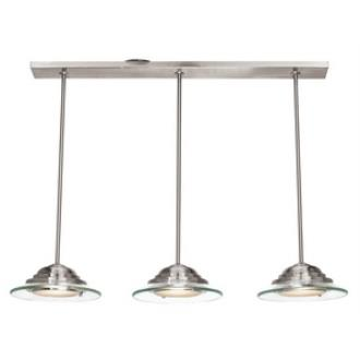 Access Lighting 50443 Phoebe - Three Light Pendant/Semi-Flush Mount