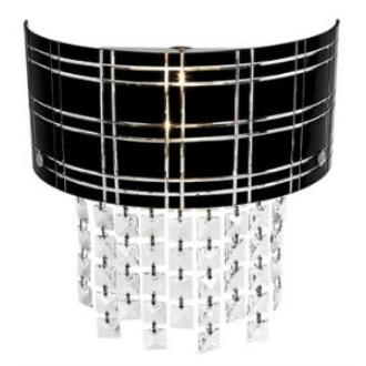 Access Lighting 50970 Kalista - Two Light Wall Sconce with Crystal Drop