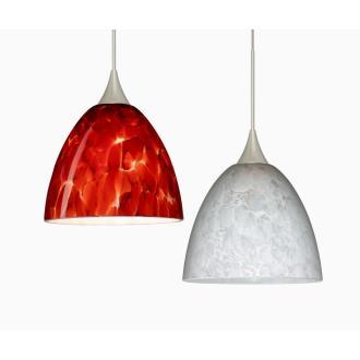 Besa Lighting Sasha Mini-Pendant-1 Sasha - One Light Cord Pendant with Flat Canopy
