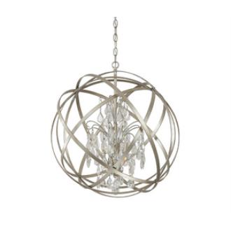 Capital Lighting 4234WG-CR Axis - Four Light Pendant
