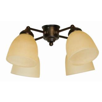 Craftmade Lighting LK400CFL-OB Universal - Four Light Ceiling Fan Kit