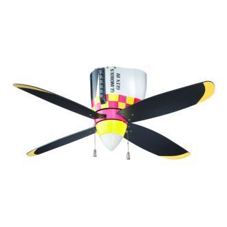 """Craftmade Lighting WB448GG Warbird - 48"""" Air Power Fan"""