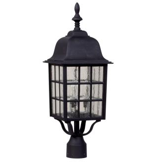 Craftmade Lighting Z575 Grid Cage - Three Light Outdoor Large Post Mount