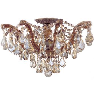 Crystorama Lighting 4437 Maria Theresa - Five Light Ceiling Mount