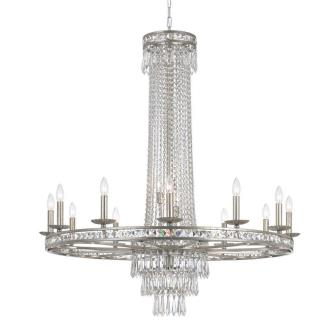 Crystorama Lighting 5269-OS-CL-MWP Mercer - Sixteen Light Chandelier