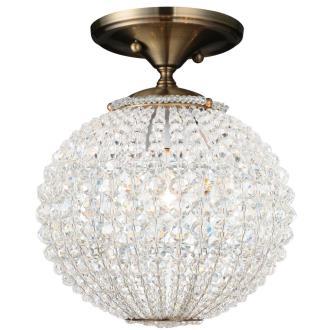 Crystorama Lighting 6750 Newbury - One Light Ceiling Mount