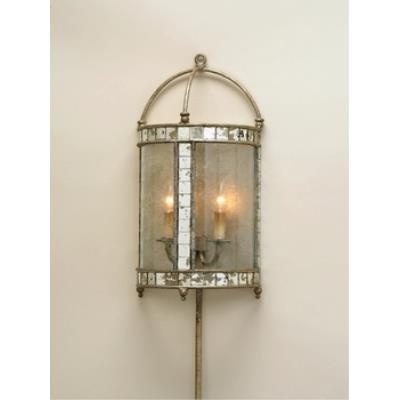 Currey and Company 5032 2 Light Corsica Wall Sconce