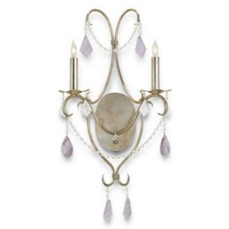 Currey and Company 5116 Perrine - Two Light Wall Sconce