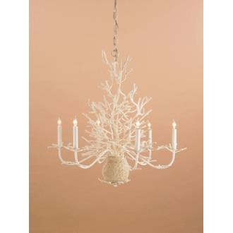 Currey and Company 9218 6 Light Seaward Chandelier