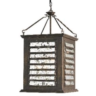 Currey and Company 9290 Passage - Four Light Outdoor Hanging Lantern