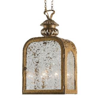 Currey and Company 9300 The Lillian August - Two Light Mercer Outdoor Hanging Lantern