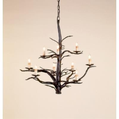 Currey and Company 9327 9 Light Treetop Large Chandelier
