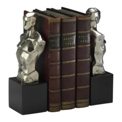 "Cyan lighting 01895 Hercules - 9"" Bookends"