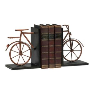 """Cyan lighting 02796 8"""" Bicycle Bookends - Set of 2"""