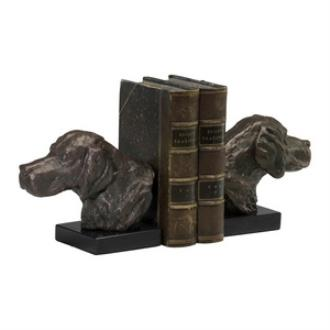"Cyan lighting 02847 7"" Hound Dog Bookend - Set of 2"