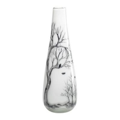 "Cyan lighting 02907 12"" Small Winter Elm Vase"
