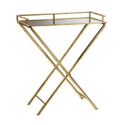 Cyan lighting 04445 Bamboo - 16 Inch Tray Table