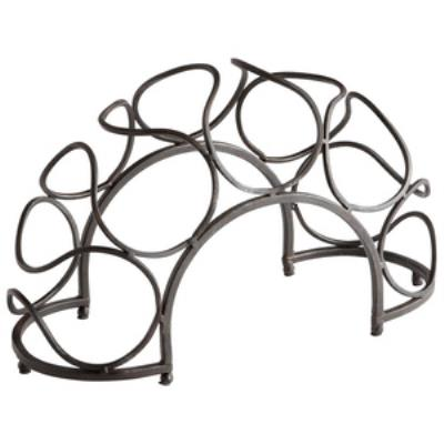 "Cyan lighting 05815 Bridge - 14.5"" Decorative Wine Rack"