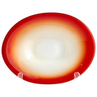 "Cyan lighting 05885 Vermillion Dream - 9.50"" Small Decorative Plate"