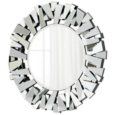 "Cyan lighting 05938 Circle Cityscape - 47.25"" Decorative Mirror"