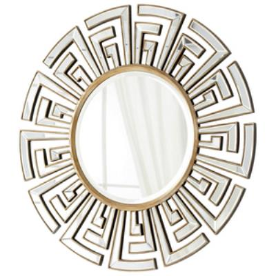 "Cyan lighting 05941 Cleopatra - 47"" Round Decorative Mirror"