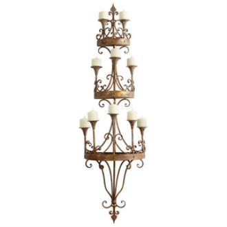"Cyan lighting 05961 Eastnor - 64"" Wall Decorative Candleholder"