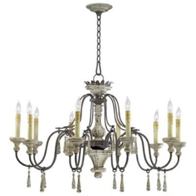 Cyan lighting 6513-10-43 Provence - Ten Light Chandelier