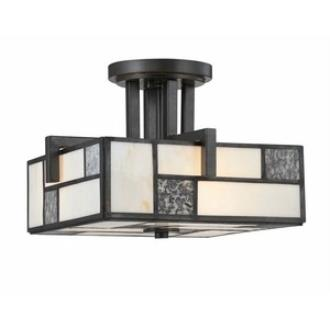 Designers Fountain 84111-CHA Bradley - Three Light Semi-Flush Mount