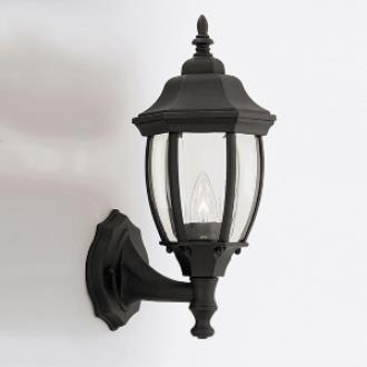 Designers Fountain 2420-BK Triverton - One Light Outdoor Wall Lantern