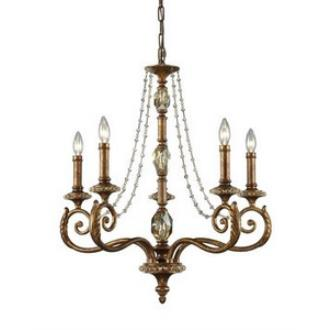 Elk Lighting 11294/5 Montavilla - Five Light Chandelier