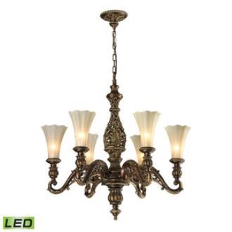 Elk Lighting 11540/6 Allesandria - Six Light Chandelier