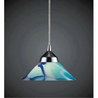 Elk Lighting 1477/1CAR Refraction - One Light Pendant