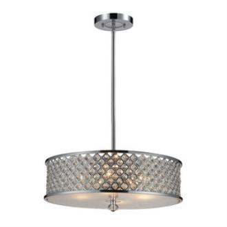 Elk Lighting 31105/4 Genevieve - Four Light Pendant