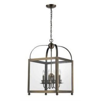 Elk Lighting 31220/4 Tindale - Four Light Outdoor Hanging Lantern