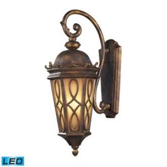 Elk Lighting 42002/3-LED Burlington Junction - Three Light Outdoor Wall Sconce
