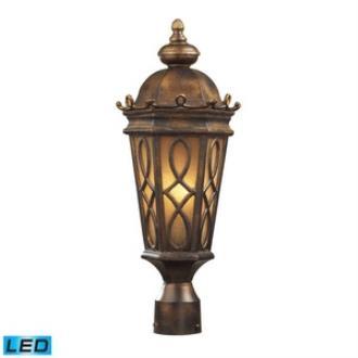 Elk Lighting 42004/2-LED Burlington Junction - Two Light Post Mount