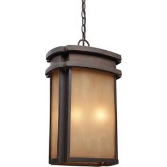 Elk Lighting 42143/2 Sedona - Two Light Outdoor Pendant