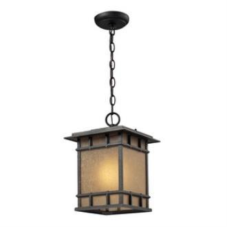 Elk Lighting 45013/1 Newlton - One Light Outdoor Pendant