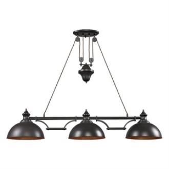Elk Lighting 65151-3-LED Farmhouse - Three Light Island