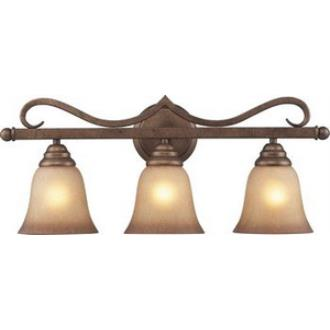 Elk Lighting 9322/3 Lawrenceville - Three Light Wall Bracket
