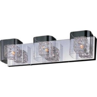 ET2 Lighting E22833-18PC Gem - Three Light Bath Vanity