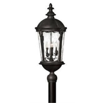 Hinkley Lighting 1891BK Windsor - Four Light Post