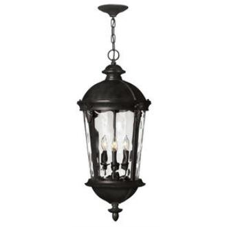 Hinkley Lighting 1892BK Windsor - Four Light Outdoor Hanging Lantern