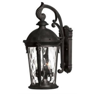 Hinkley Lighting 1898BK-LED Windsor - LED Medium Outdoor Wall Mount