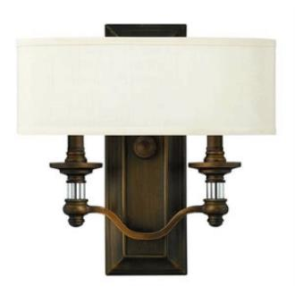 Hinkley Lighting 4900EZ Sussex Two Light Wall Sconce