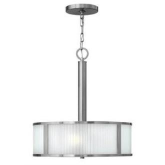 Hinkley Lighting 4972BN Midtown - Three Light Inverted Chandelier