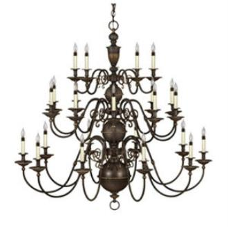 Hinkley Lighting 4419OB Cambridge Chandelier