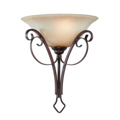Jeremiah Lighting 21741-AGT Preston Place - One Light Half Wall Sconce